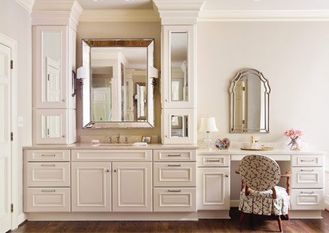 产品型号:定制衣柜 定制梳妆台 原木衣柜 法式卧室 欧式卧室